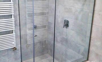 üveg zuhanykabin készítés
